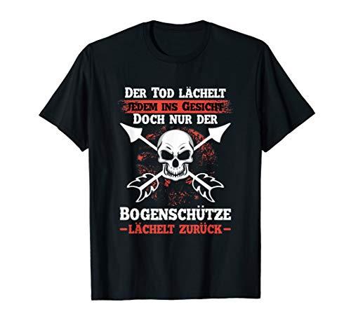 Bogenschießen Shirt Männer Bogenschütze Lustig Bogen T-Shirt