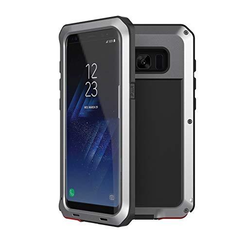 Carcasa de telefono Estuche a prueba de golpes a prueba de golpes anti-golpe de metal Ajuste a prueba de golpes Fit For Samsung Galaxy S8 S9 Plus S7 S6 Edge Note 8 9 10 Funda, cubierta protectora de c