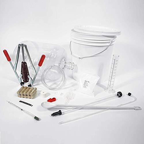 Wild Grapes, Premium Wine Equipment Starter Kit, Wine Making Supplies for 6 Gallon Wine Kits