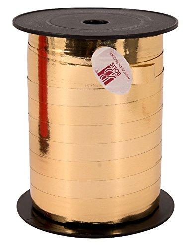 Rufflette/Pull ruban doré métallisé 10 mm 250 m