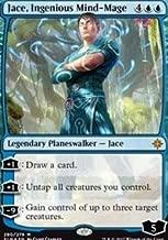 Wizards of the Coast Jace, Ingenious Mind-Mage - Planeswalker Deck Exclusive - Ixalan - (Planeswalker Deck Exclusives)