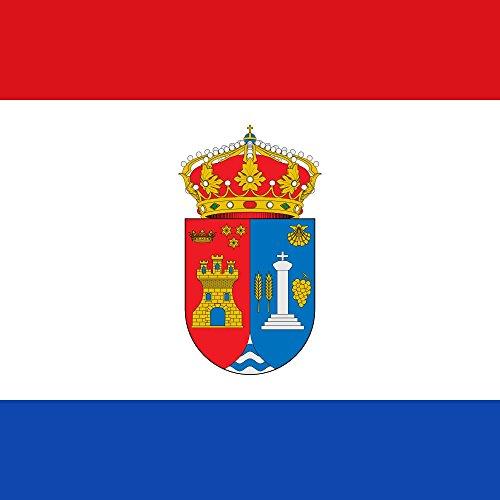 magFlags Bandera Large Municipio de Pedrosa del Príncipe Castilla y León | 1.35m² | 120x120cm