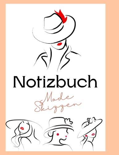 Notizbuch Mode Skizzen: 236 Figurenvorlagen zum Entwerfen von Kleidung und zum Aufbau Ihres Portfolios, weibliche Figurenvorlagen zum schnellen und ... Dancing Fashion ,120 pages – 8,5 * 11 in