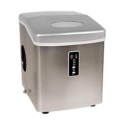 edgestar IP210 12' wide 2.5 lbs. Capacity portable ice maker with 28 lbs. Da