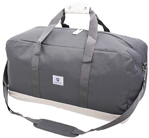 Vintage Weekendbag rugzak, 53 cm, 65 L, grijs