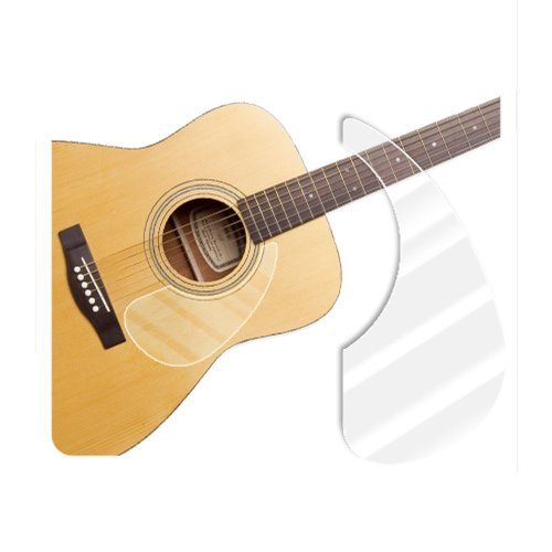 [Healingshield] Premium Acoustic Guitar Pickguard Basic Type Clear Glossy