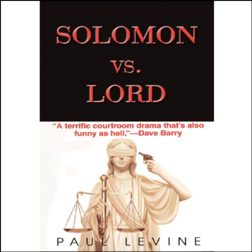 Solomon vs. Lord audiobook cover art