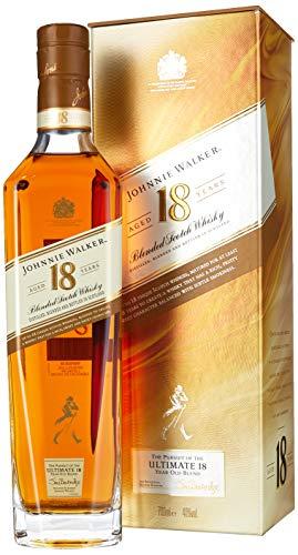 Johnnie Walker 18YO Blended Scotch Whisky, 70 cl