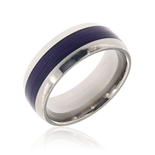 Fly Fishing Rings Mens Wedding Bands Custom Outdoor Jewelry Titanium Rings Wedding Band