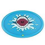 VSUK Hai Splash Pad, Sprinkler Play Matte, Sommer Garten Wasserspielzeug Kinder Baby Pool Pad Spritzen Für Outdoor Familie Aktivitäten/Party/Strand/Garten