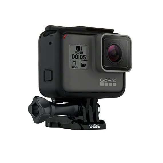 Gopro hero5 black (e-commerce packaging) 1 this product is in manufacturer e-commerce packing (see pictures). The product itself is identical to the one found in retail packaging & it is covered under full standard warranty stunning 4k video and 12mp photos in single, burst and time lapse modes durable by design, hero5 black is waterproof to 33ft (10m) without a housing