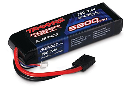Traxxas 2843 5800mAh 7.4V 2-Cell 25C LiPo Battery