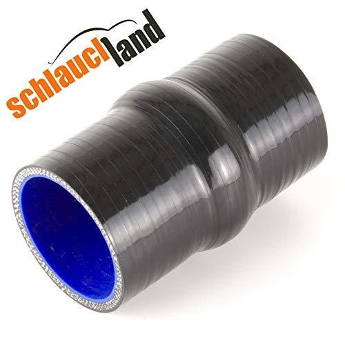 Hump Silikonschlauch ID 57mm schwarz*** Ansaugschlauch 0-10° Winkel Verbinder