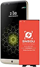LG G5 Battery, Upgraded SNSOU 3500mAh Li-ion Battery Replacement for LG G5 BL-42D1F VS987 Verizon,H830 T-Mobile, H820 AT&T, LS992 Sprint,US992,H845 Dual H850 H858,G5 Spare Battery [24 Month Warranty]