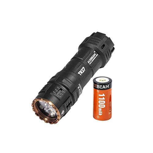 ACEBEAM TK17 EDC Flashlight with Rechargeable Battery 2300 Lumens SAMSUNG LED Handheld Flashlights