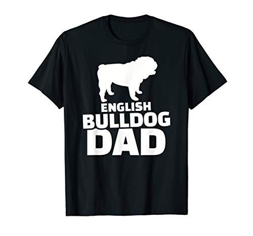 Englische Bulldogge Papa T-Shirt