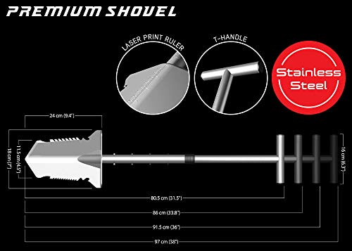 Nokta Makro Premium Stainless Steel Shovel