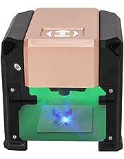 Smartlife レーザー彫刻機、3000MWレーザー彫刻機ミニ卓上レーザー彫刻機DIYロゴレーザー彫版機8x8 CM(PCと携帯電話の両方が使用可能、Bluetooth接続)