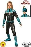 Rubies Captain Marvel Disfraz, Multicolor, Medium Age 5-7 Years (700595_M)
