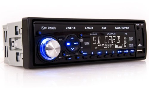 Volldigitales MP3 Car-Hifi Autoradio Headunit mit USB SD AUX-in Denver CAU-425