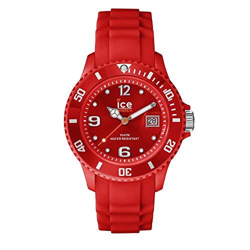 Ice-Watch - ICE forever Red - Orologio rosso Unisexcon Cinturino in silicone - 000139 (Medium)
