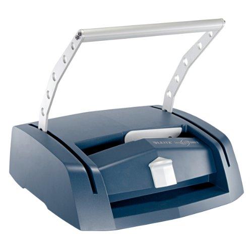 Leitz 73880000 Buchbindegerät impressBIND 280 für A4, blau/silber