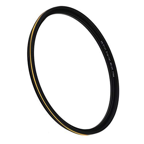 Filtro UV de 77 mm, ultra delgado de la cámara ultravioleta filtro de protección de la lente MCUV filtro de la cámara digital UV de alta definición espejo óptico
