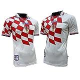 カスタム1998クロアチアレトロジャージーTシャツ、大人の男性のためのワールドカップクラシックサッカーユニフォーム、全国チームサッカースウェ