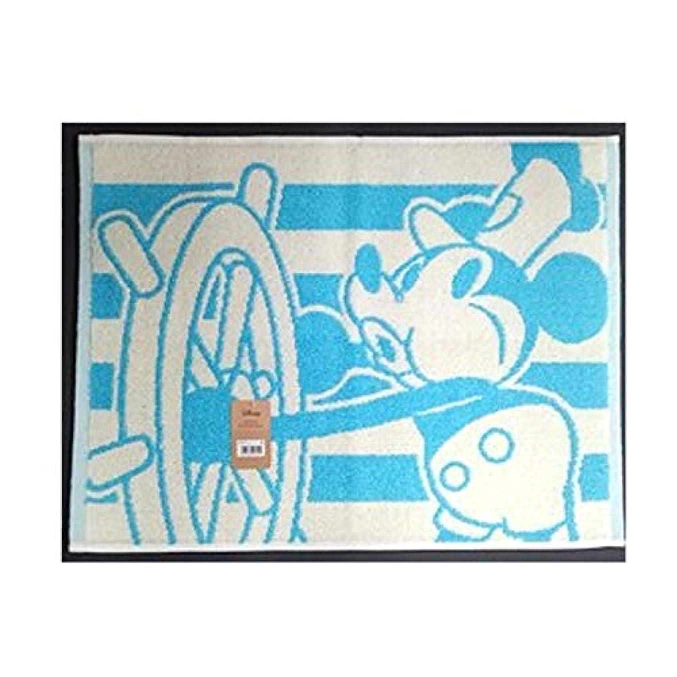 ぺディカブ肥満音楽家林(株) ディズニーミッキー バスマット アイラブミッキー [416204]