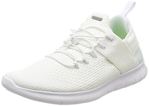 Nike Damen WMNS Free RN CMTR 2017 Laufschuhe, Weiß (White/White/White), 40 EU