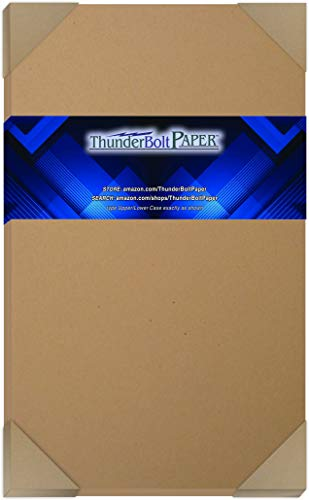 "150 Brown Kraft Fiber 28/70# Text Paper Sheets - 8.5"" X 14"" - 70lb/pound (not cardstock) Weight (8.5X14 Inches) Legal