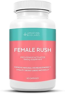 Amazing BioLabs Female Rush- FOR HER - Increase Energy, Vitality, Drive and Supports Overall Wellness