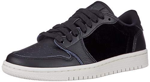 Nike Wmns Air Jordan 1 Retro Low NS, Scarpe da Fitness Donna, Nero (Black/Black/Sail 001), 42 EU