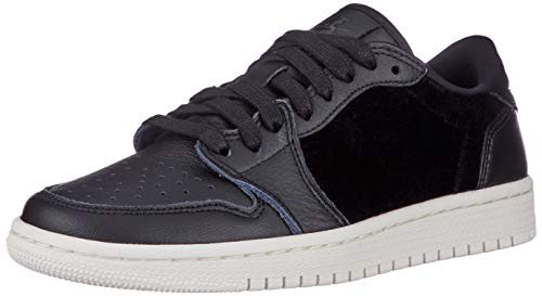 Nike Damen WMNS Air Jordan 1 Retro Low Ns Fitnessschuhe, Schwarz (Black/Black/Sail 001), 41 EU