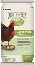 Nutrena Country Feeds 16% Layer Pellets Chicken Feed 50 Pounds