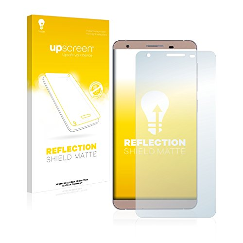 upscreen Entspiegelungs-Schutzfolie kompatibel mit Cubot X15 – Anti-Reflex Bildschirmschutz-Folie Matt
