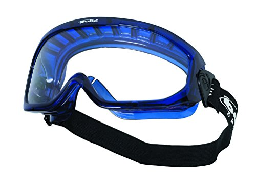 Bolle BLAPSI Blast Clear Polycarbonate Goggles - Ventilated...