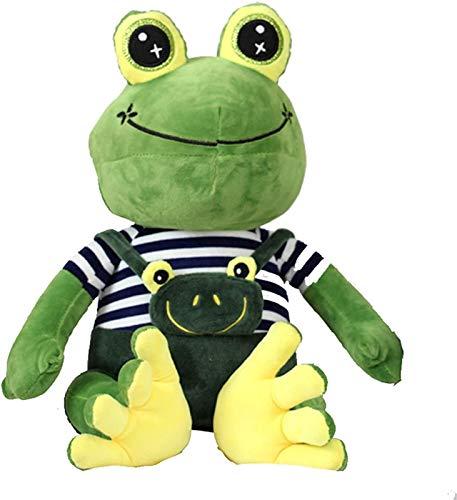 RSBCSHI Netter weicher Frosch Plüschtier, Plüschpuppe, für Auto-Sofa-Dekoration, schönes Geschenk für Kinder-Haustier, für Wohnkultur Plüschpuppe, 35-70cm (Size : 35cm)