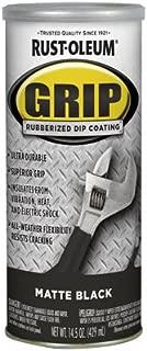 RUST-OLEUM 322126  Black Matte Rubberized Dip Coating, 14.5 ounce