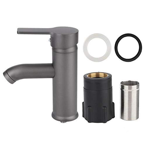 Uxsiya Grifo de Agua del Grifo de Agua anticongelante para filtros de impurezas para Ajustar la Temperatura(Round Shape)