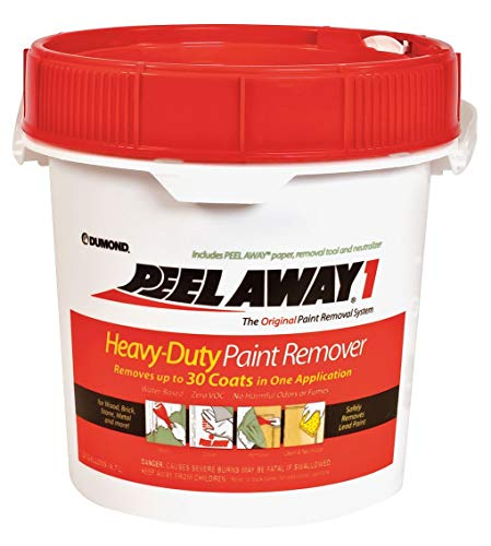 Dumond Chemicals, Inc. 1160N Peel Away 1 Heavy-Duty Paint Remover, 1 1/4 Gallon Kit