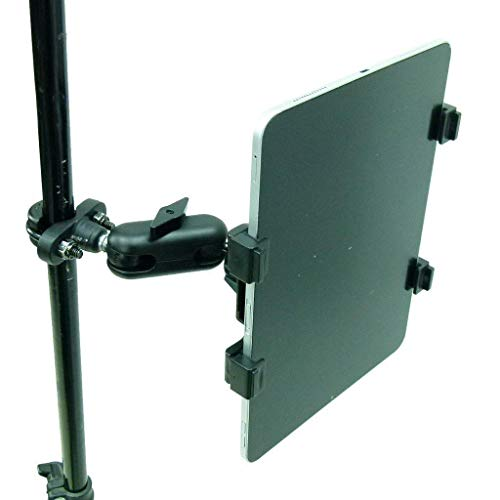 BUYBITS Secure Metal U-Bolt Music/Mic Stand Holder Mount for Apple iPad Air 4 (2020)