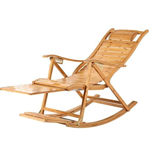 WJJJ Liegestuhl Liegestühle Schaukelstuhl Klappschaukelstuhl für Patio Beach Yard Lawn Pool