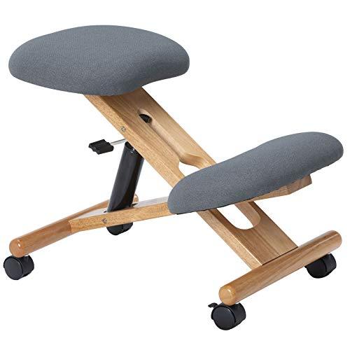 IDIMEX Kniehocker Villach ergonomisch, Sitzhocker...