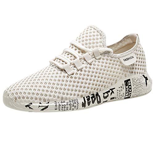 Joggingschuhe Herren Turnschuhe Dämpfung Sneaker Schuh-Breathable Mesh Tuch Arbeitsschuhe Atmungsaktive Schuhe Für Frühling Sommer Casual Fitnessschuhe