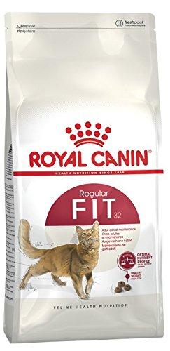 ROYAL CANIN Fit 32 400g, ruhige Katzen mit Idealgewicht Katzenfutter, Trockenfutter