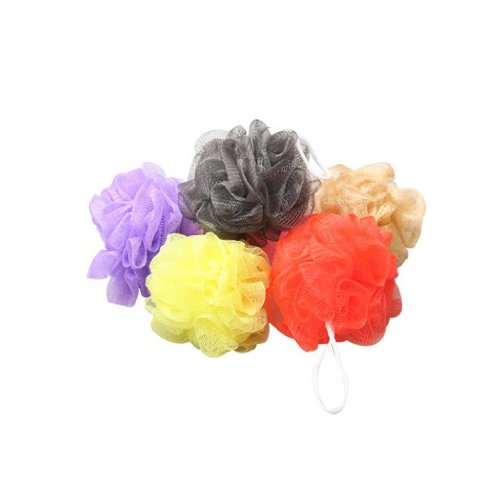 10pcs Bola De Ducha Baño Para Cuerpo Bath Puff Sponge Mesh Ball Soplo Esponja Malla
