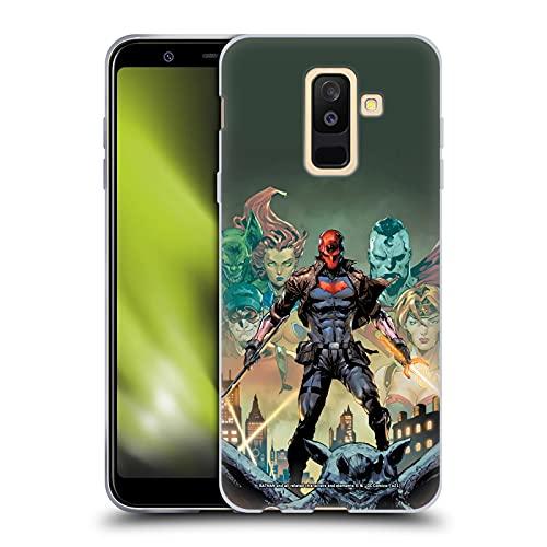 Head Case Designs sous Licence Officielle Batman DC Comics Et Les Hors-la-Loi # 50 Red Hood Coque en Gel Doux Compatible avec Samsung Galaxy A6 Plus (2018)