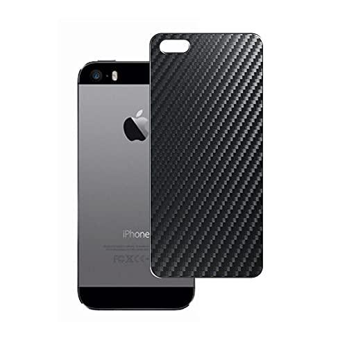 Vaxson 2-Pack Pellicola Protettiva Posteriore, compatibile con iphone 5 / 5s / 5c / SE, Nero Back Film Protector Skin [Non Custodia Cover ]