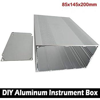150x105x55mm DIY Aluminum Enclosure Case Electronic Project PCB Instrument Box